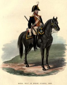 Royal Horse Guards uniform (1806)